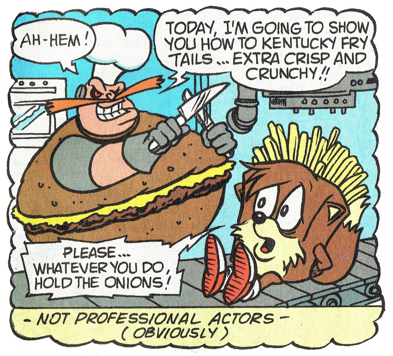 Bizarre Panel From Archie Comics Sonic The Hedgehog Issue 11 Sonic The Hedgehog Know Your Meme