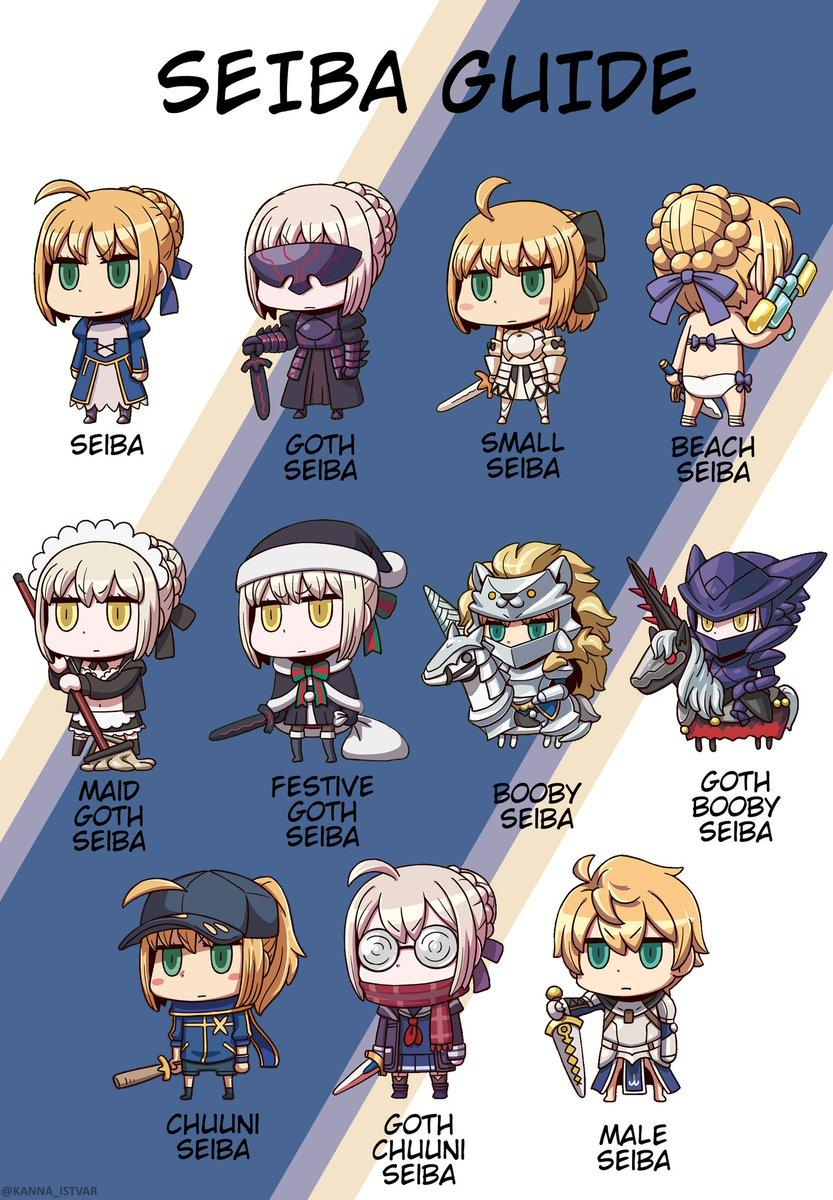 Seiba Guide | Fate/Grand Order | Know Your Meme