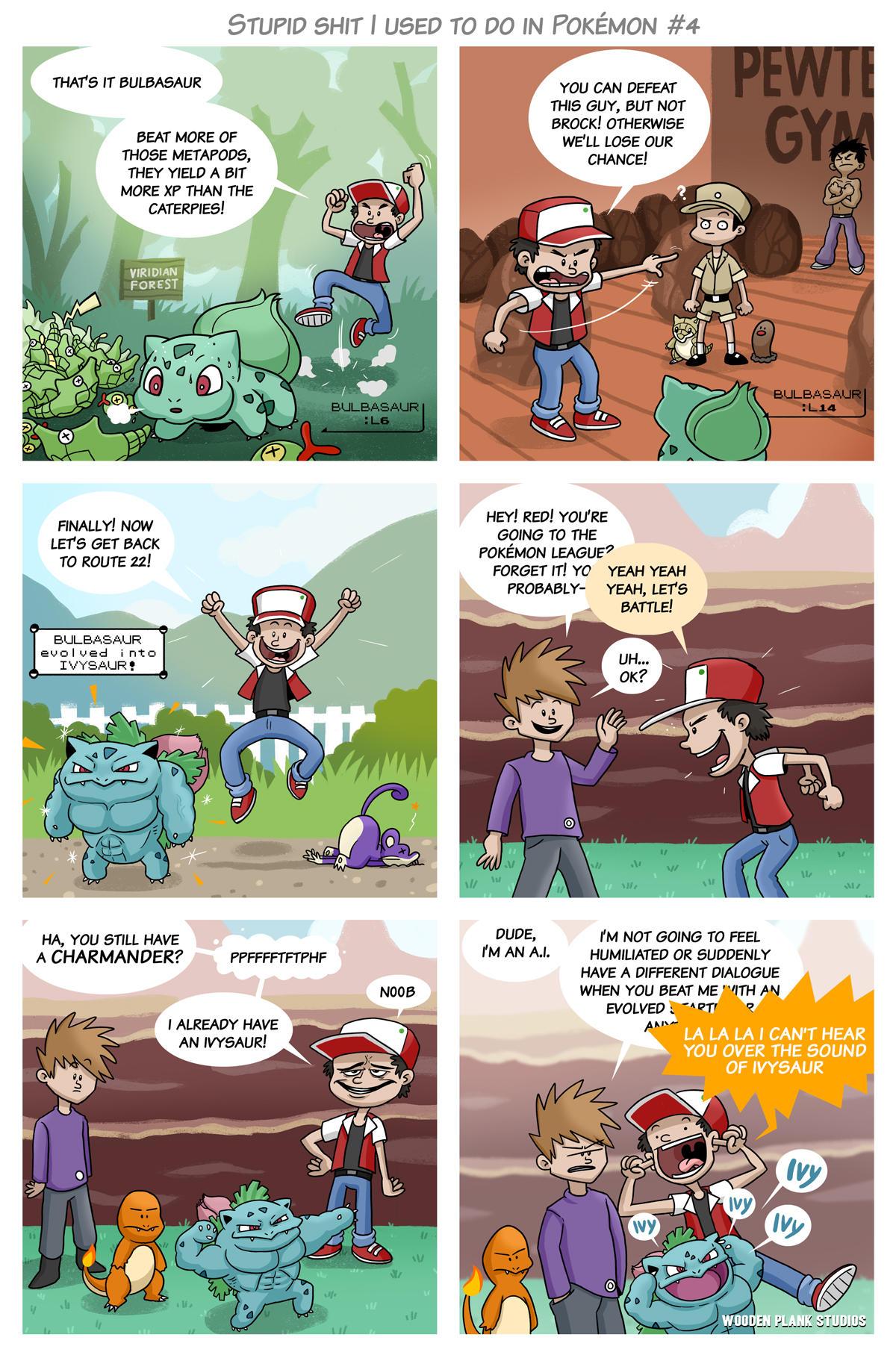 Stupid Shit I Used To Do in Pokémon #4 | Pokémon | Know ...