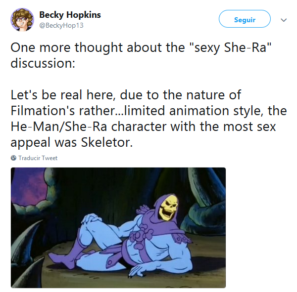 The He Manshe Ra Character With The Most Sex Appeal Was Skeletor
