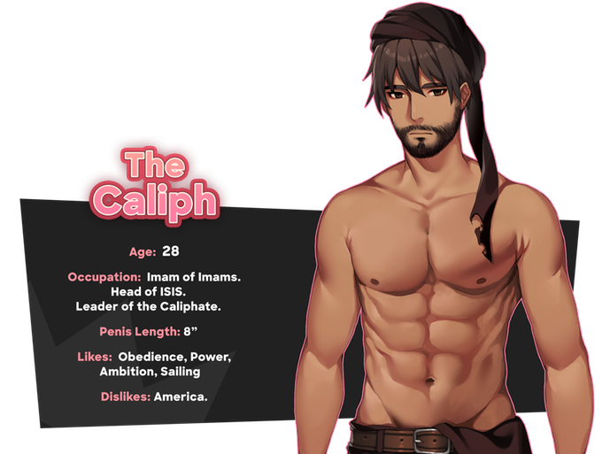 The Caliph | The Super Patriotic Dating Simulator | Know