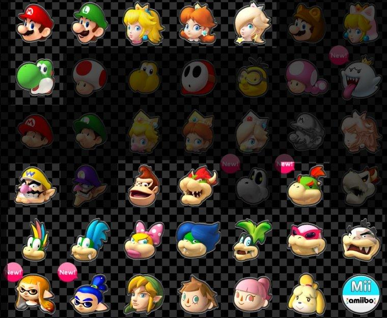 That Moment Where Over Half Of Mario Kart 8 S Roster Is