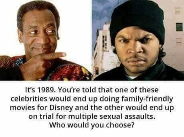 Comparison With Ice Cube Bill Cosby Rape Allegations Know Your Meme Wanna eat some bagel bites? ice cube bill cosby rape allegations