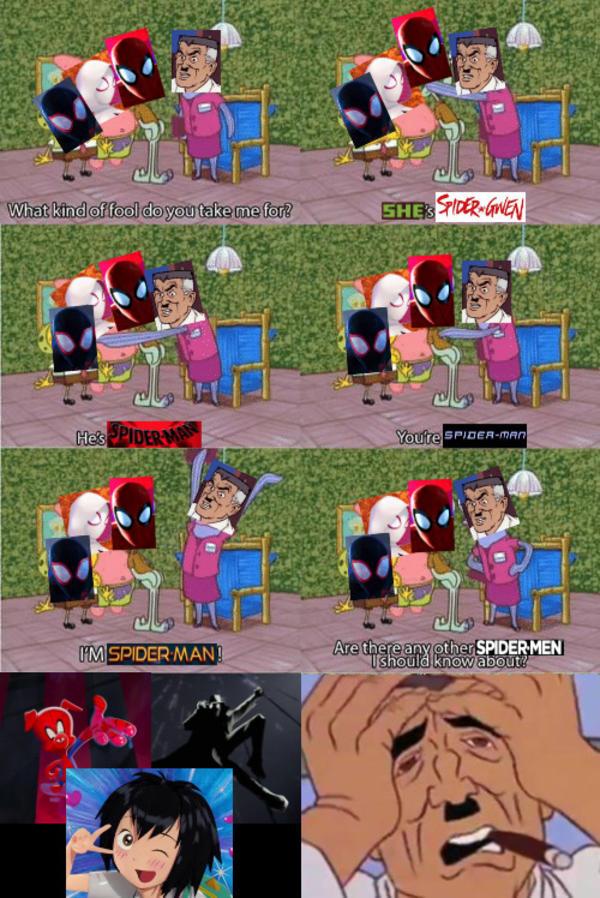 Spider Man Into The Spider Verse 2018 Spider Man Into The Spider Verse Know Your Meme