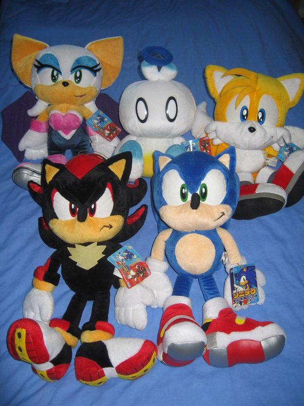 Sonic Adventure 2 Plush Set Sonic The Hedgehog Know Your Meme