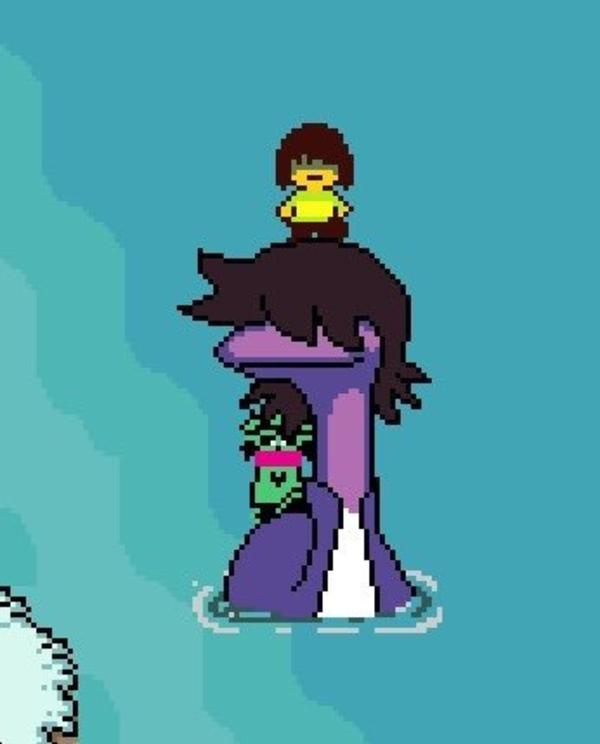 Susie Is Tessie From Earthbound Deltarune Know Your Meme