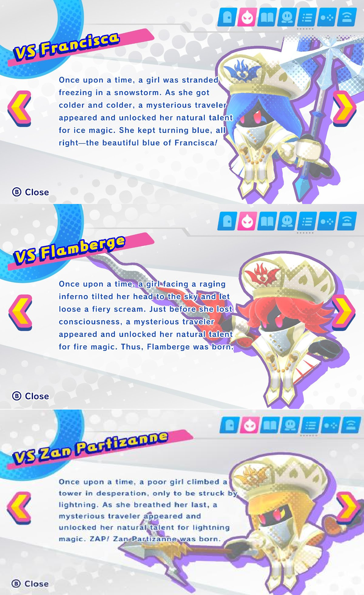 The Three Mage Sisters Origins Kirby Star Allies Know Your Meme