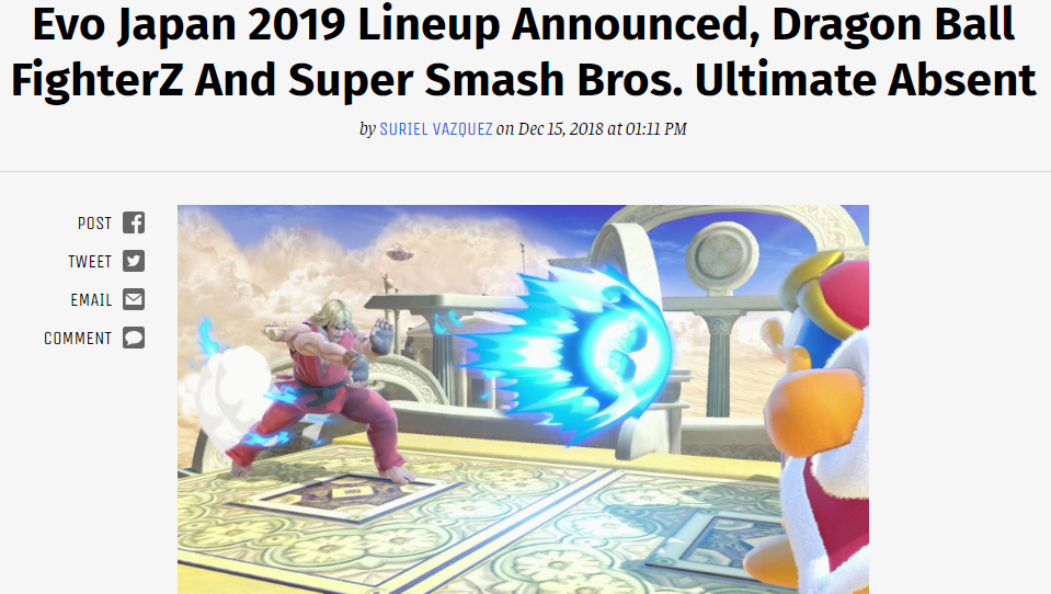 a curious oversight   Super Smash Brothers Ultimate   Know Your Meme