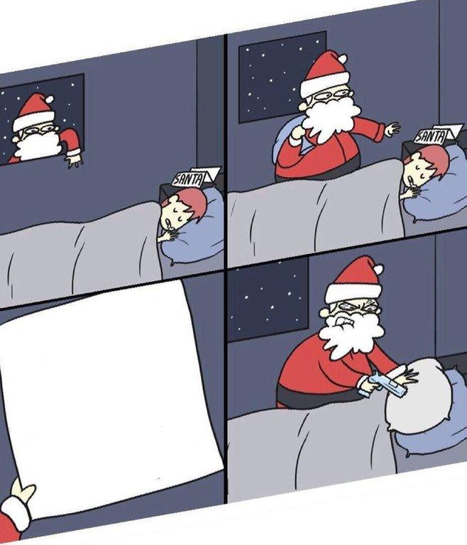 Note To Santa Template Letter To Murderous Santa Know Your Meme