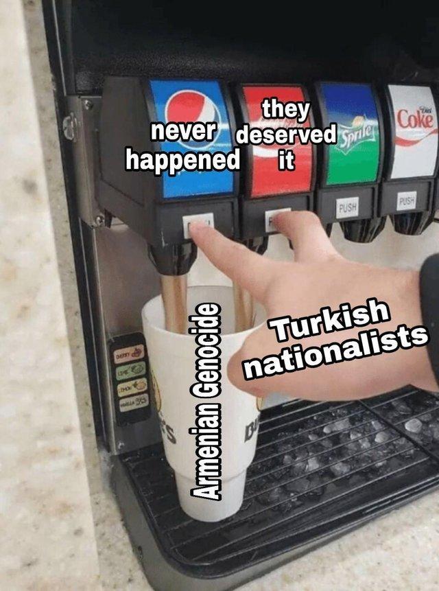 Armenian Genocide Double Soda Pour Know Your Meme