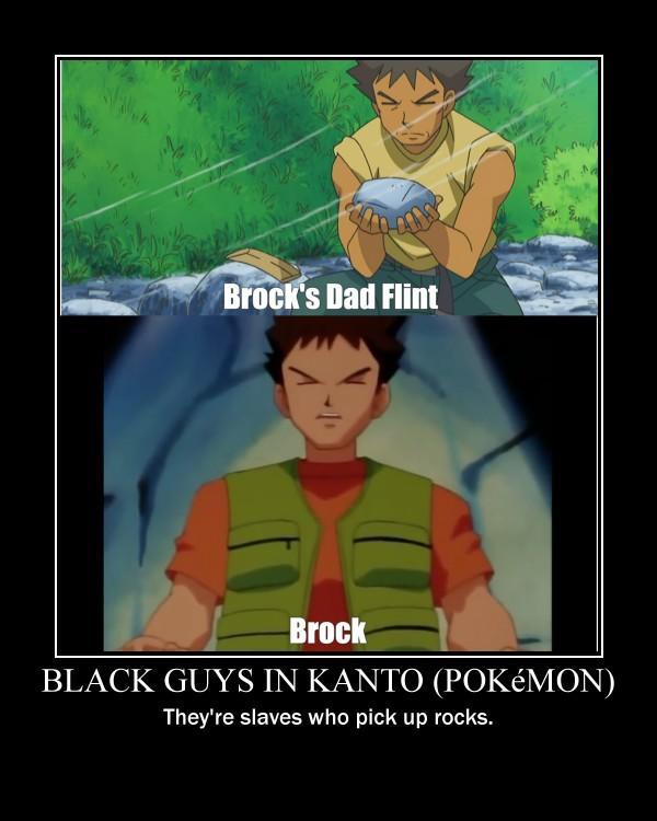 Black Guys In Kanto Pokemon Anime Manga Know Your Meme