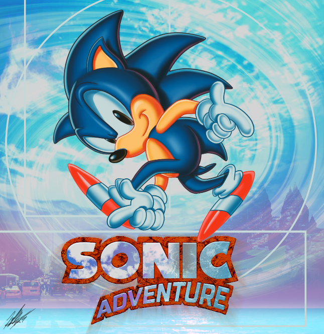 A Classic Pose Sonic Adventure Pose Know Your Meme