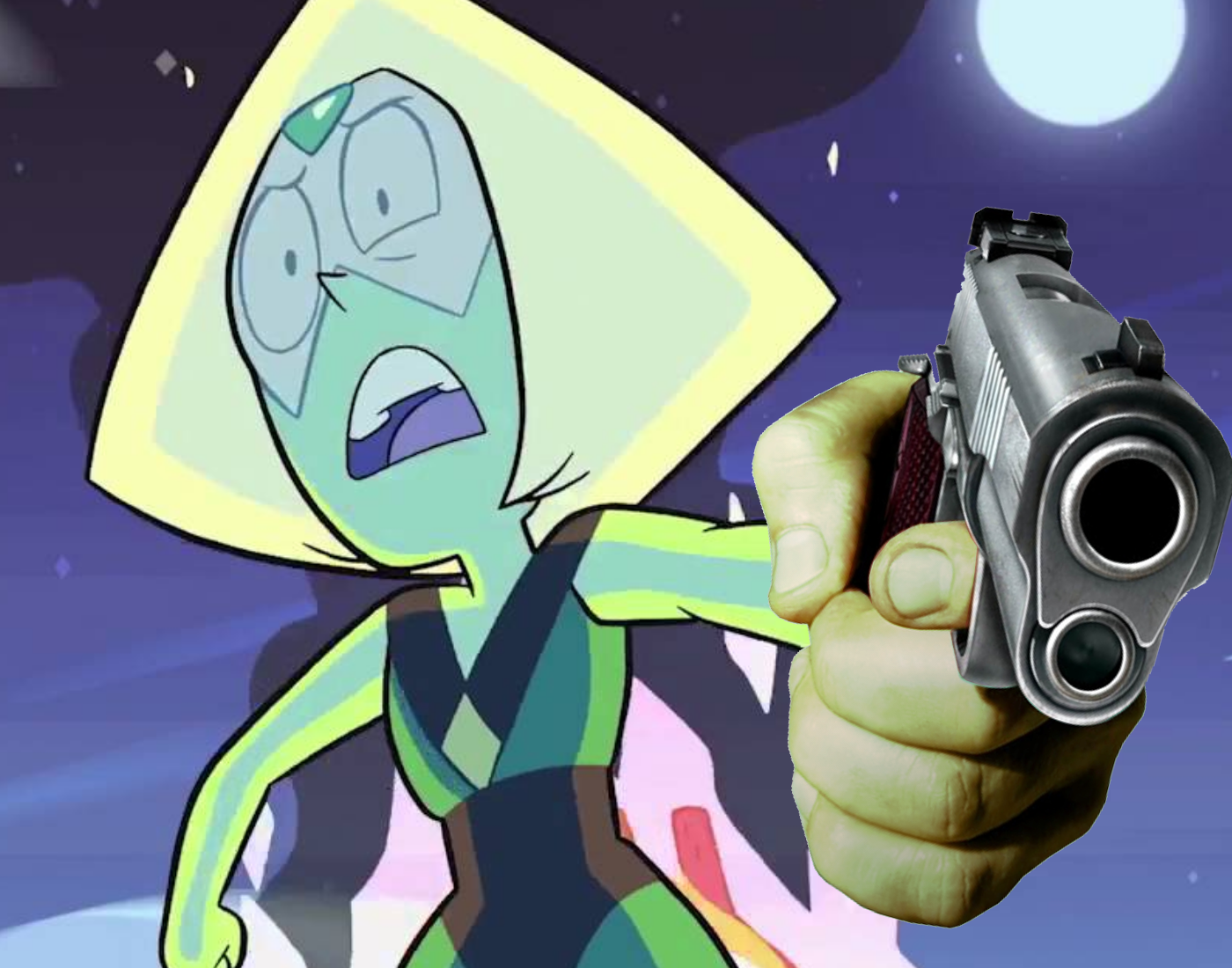 Doge Pointing Gun Meme - CALCRO