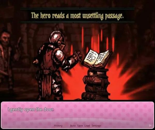Darkest Dungeon Literature Club | The Hero Reads a Most Unsettling