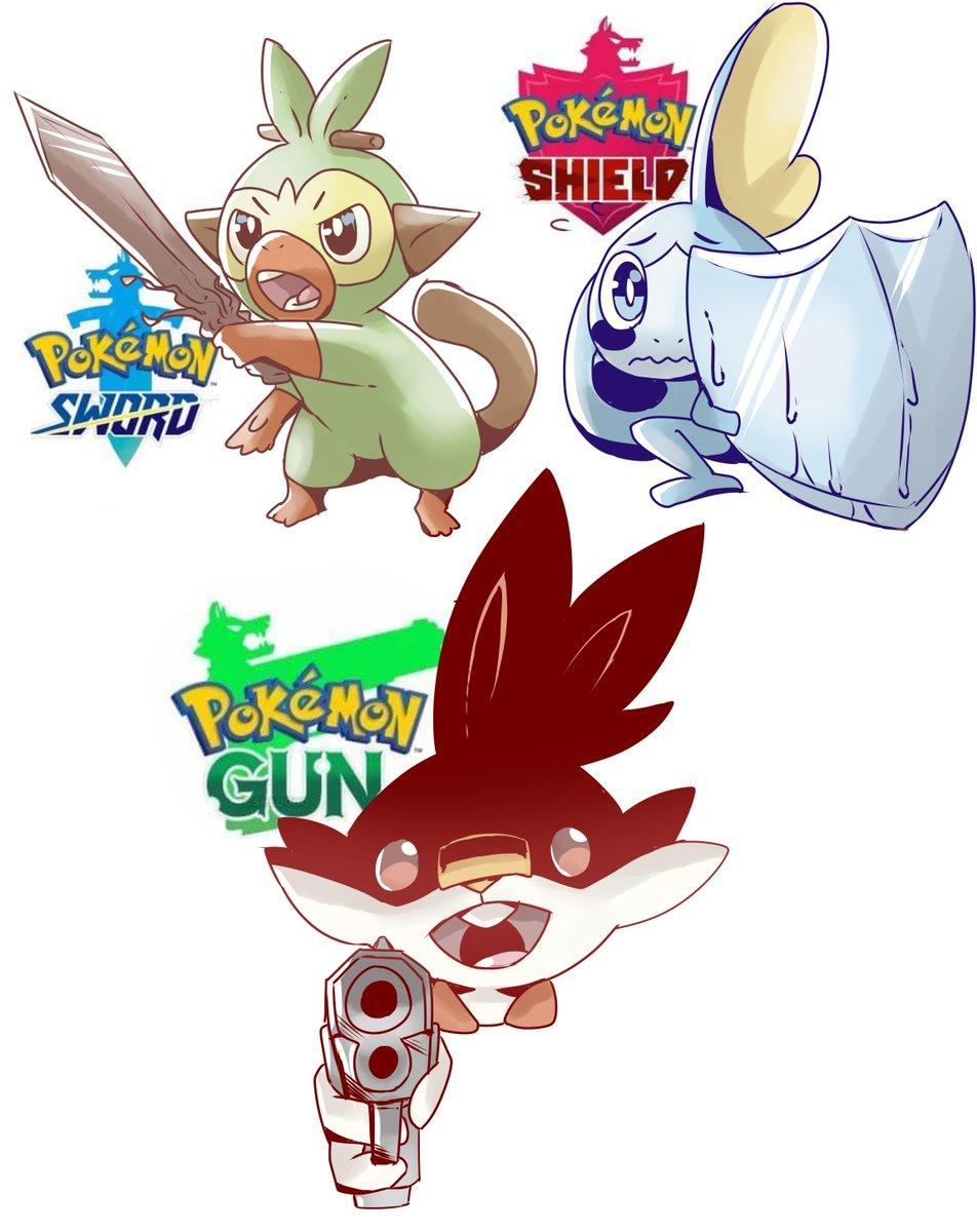 More Gun Pokemon Sword And Shield Know Your Meme Oh god it's a grookey with a gun original video by tomska: more gun pokemon sword and shield