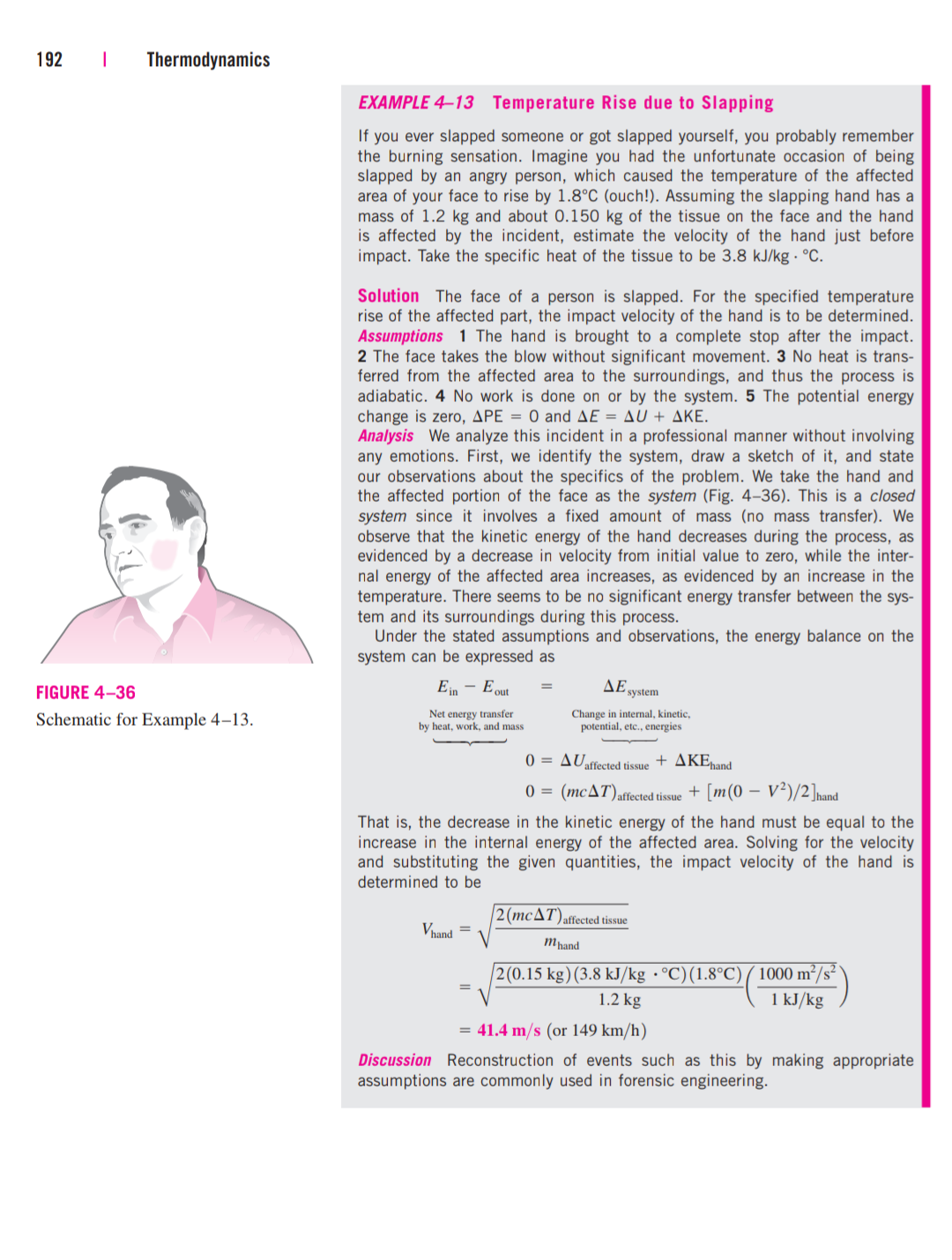 From Thermodynamics: An Engineering Approach   Slaps Chicken