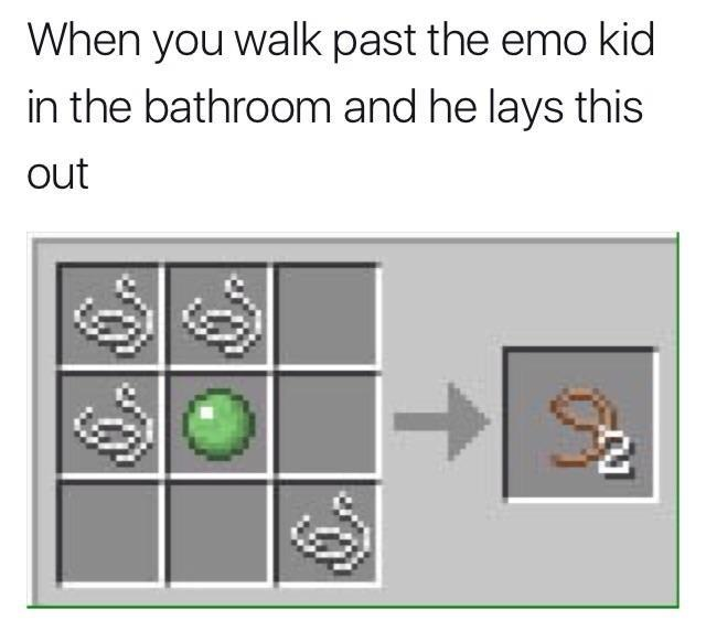 Crafting Table Memes On The Rise Invest Now Whilst You Can Minecraft Crafting Recipes Know Your Meme