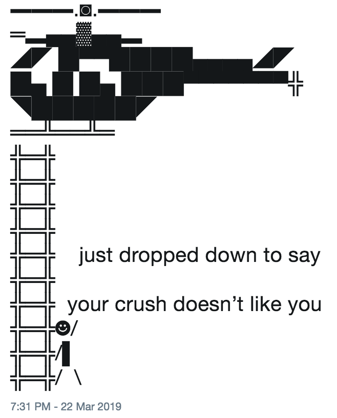 your crush doesn't like you | Just Dropped Down to Say