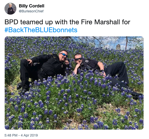 Fire Marshall | Back The Bluebonnets Challenge | Know Your Meme