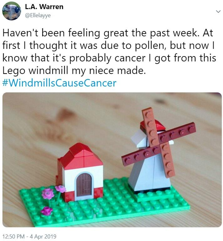 Cancer I got from this Lego | Windmill Noise Cancer | Know