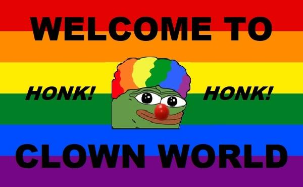 Image result for clown world