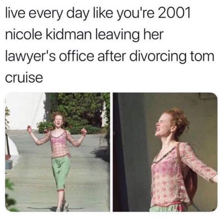 Nicole Kidman Divorces Tom Cruise Tom Cruise Know Your Meme