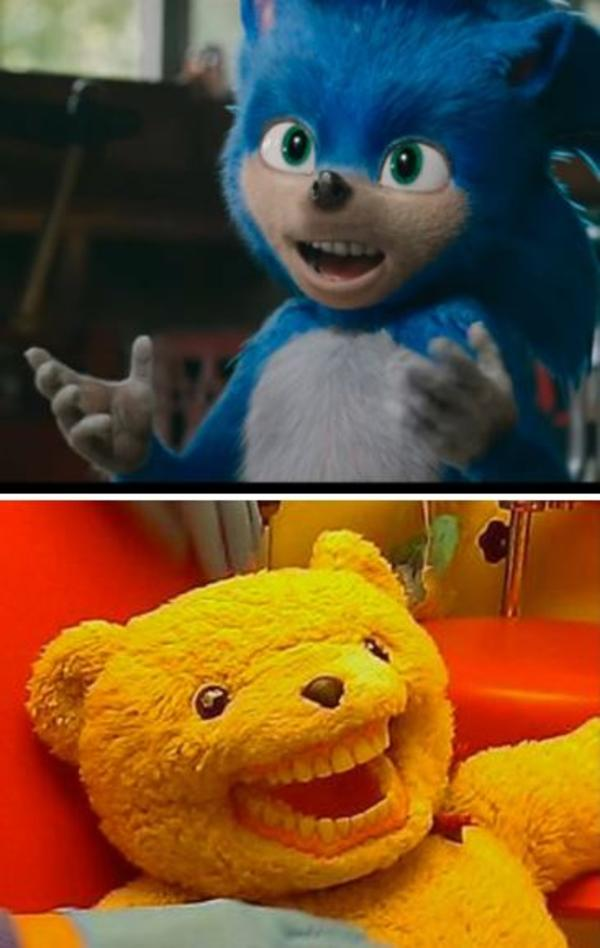 Bear Teeth Sonic The Hedgehog 2020 Film Know Your Meme