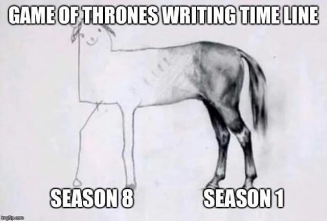 Quality Of Script S Timeline Game Of Thrones Know Your Meme