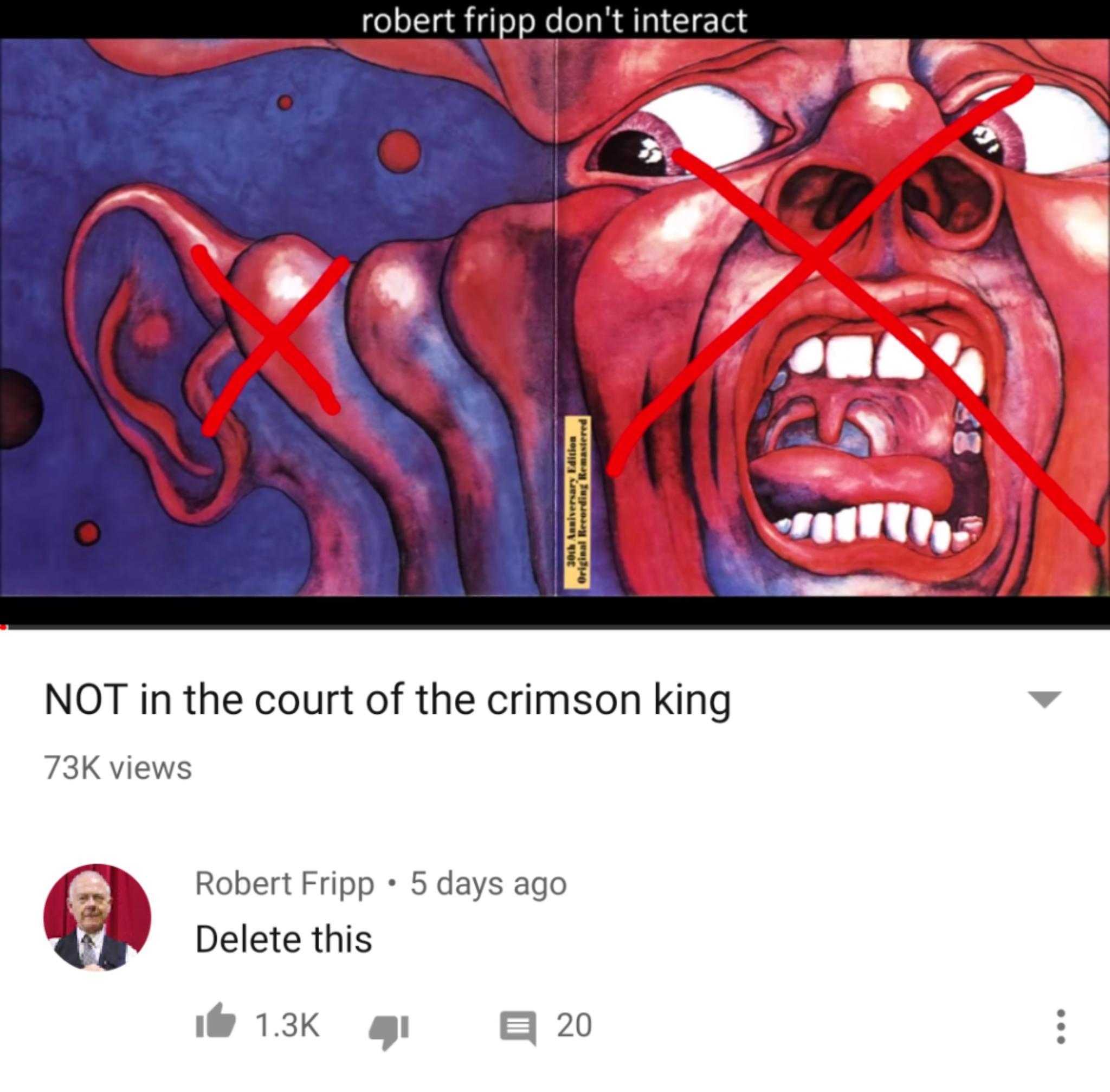 ROBERT FRIPP 20b