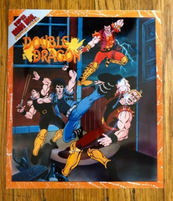 Promotional Art For The Planned Double Dragon Cartoon By Dic
