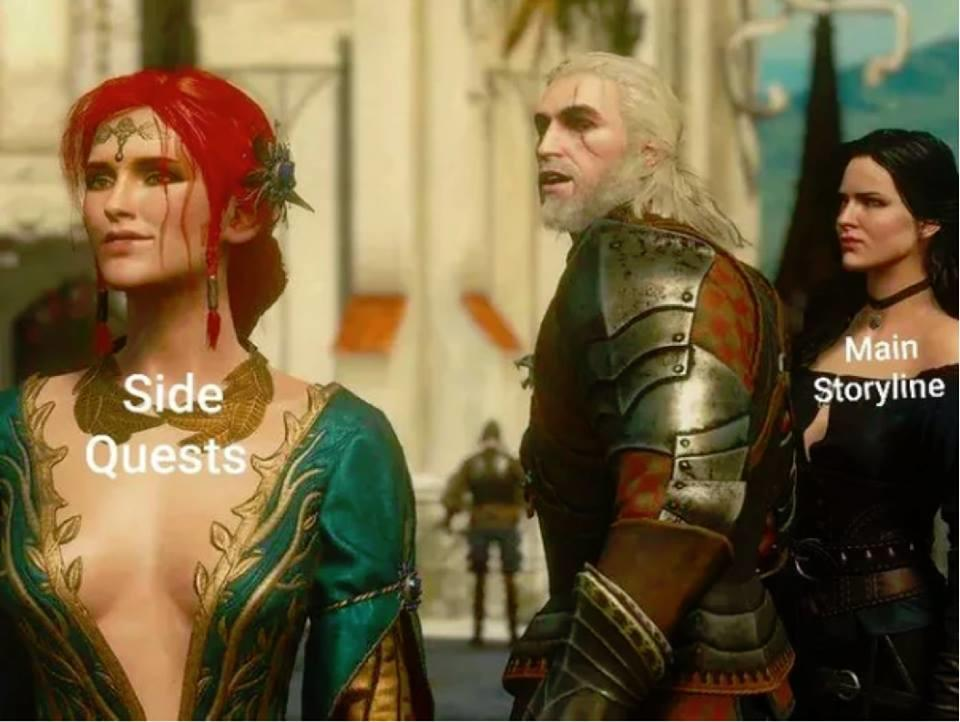 Witcher 3 Distracted Boyfriend Know Your Meme