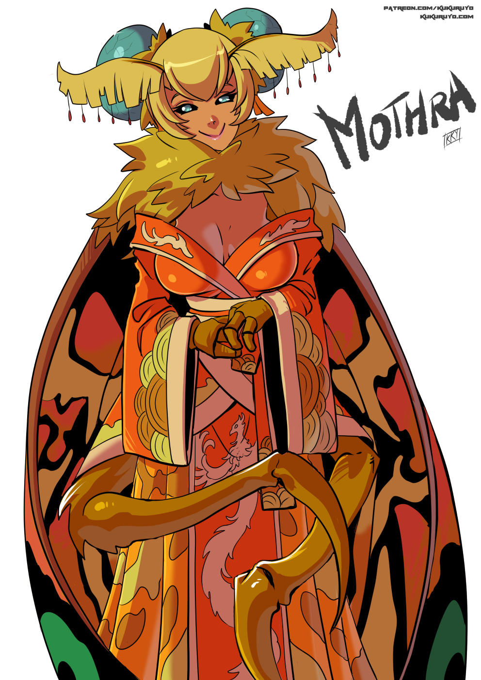 Monster Girl Mothra Godzilla Know Your Meme
