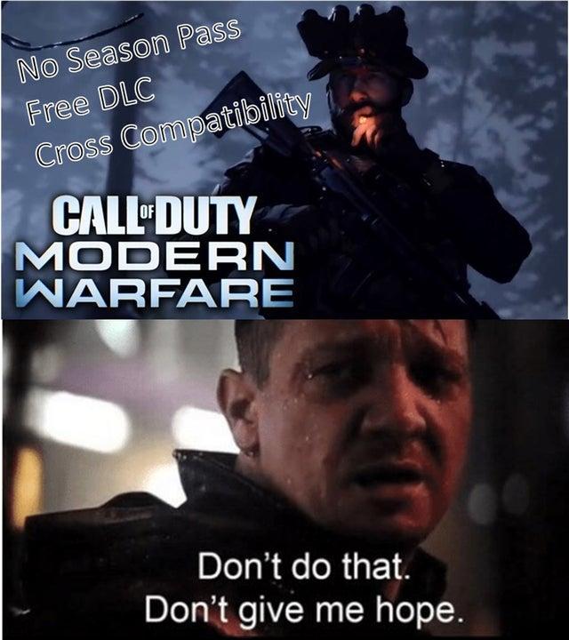 Hawkeye Call Of Duty Modern Warfare Know Your Meme