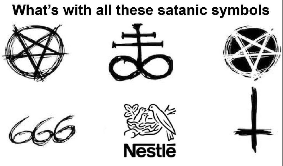 Lucifer Intensifies | Evil Nestle | Know Your Meme