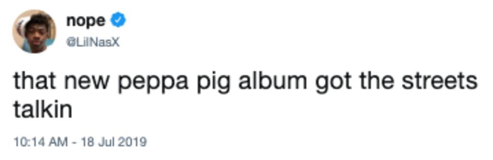 lil nas x | Peppa Pig's