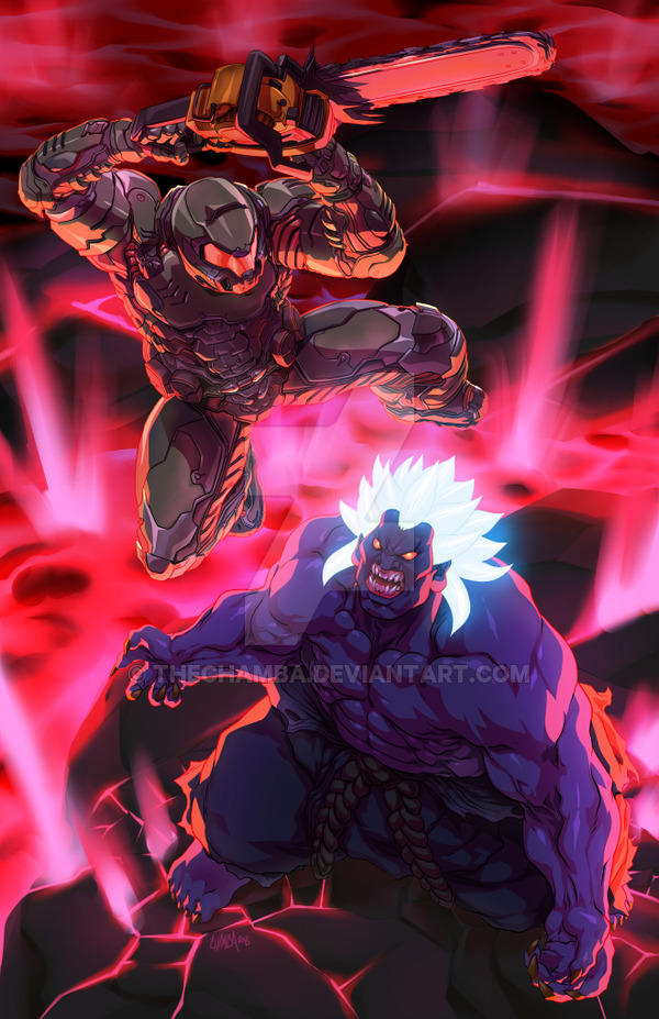Oni Vs Doomslayer Crossover Know Your Meme