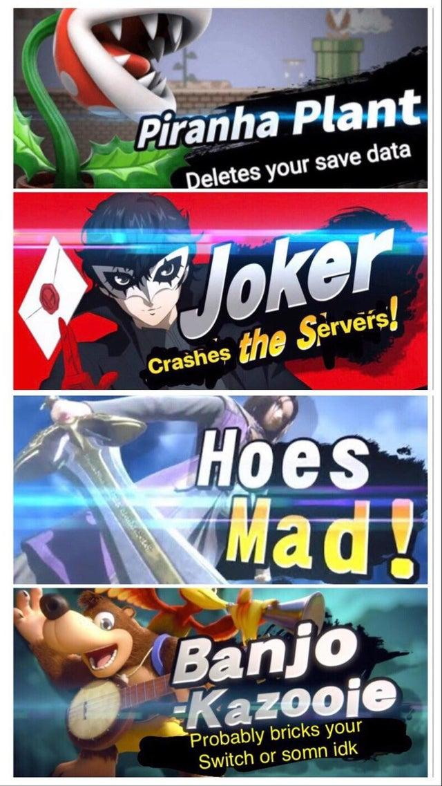 The Four Horsemen of the Smashpocalypse | Super Smash Brothers