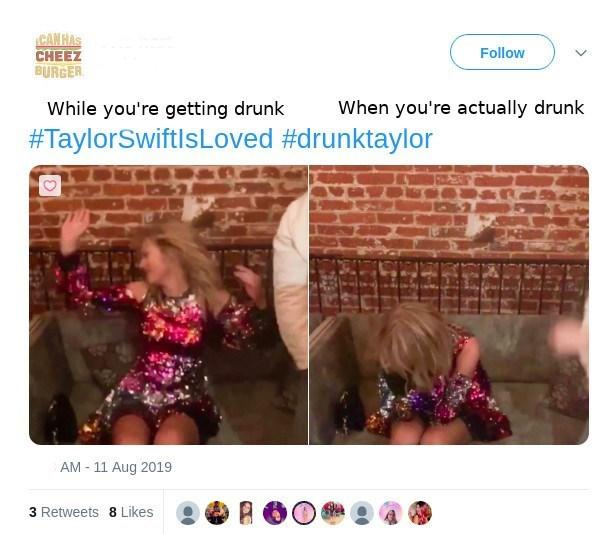 Before and after vodka   Drunk Taylor   Know Your Meme