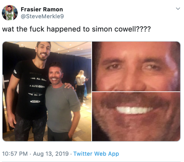 What Simon Cowell S Face Know Your Meme