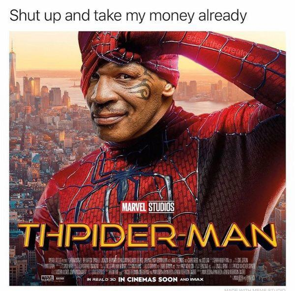Thpiderman Mike Tyson Know Your Meme Find and follow posts tagged mike tyson meme on tumblr. thpiderman mike tyson know your meme