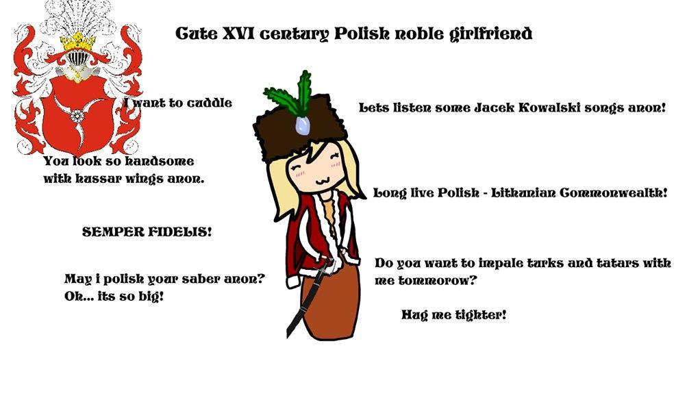Cute Noble Polish GF | Ideal GF | Know Your Meme