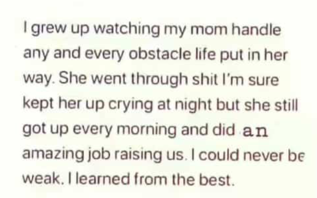 Shoutout to all the moms out there  You guys are the best