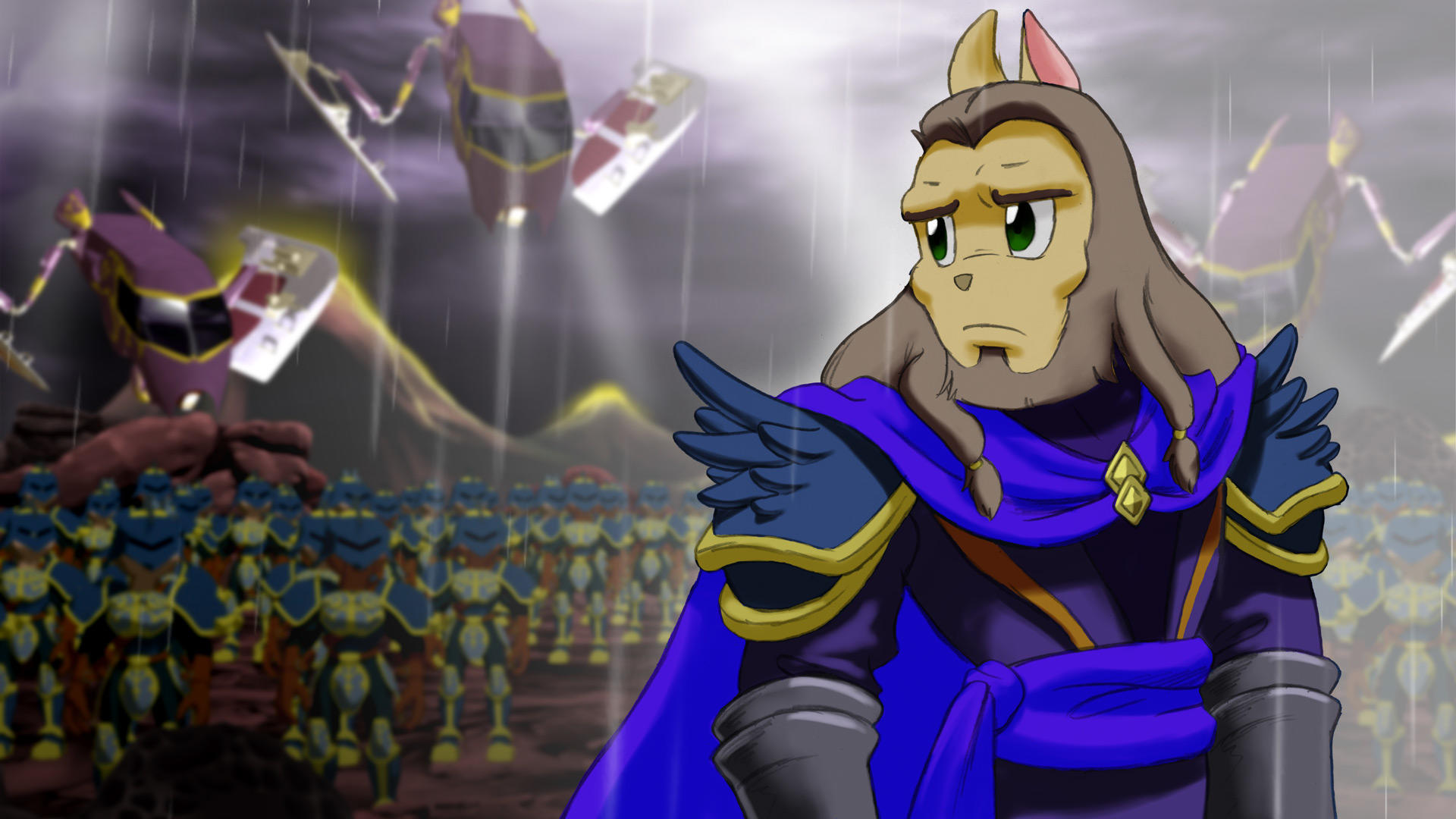 General Gaius Dust An Elysian Tail Know Your Meme