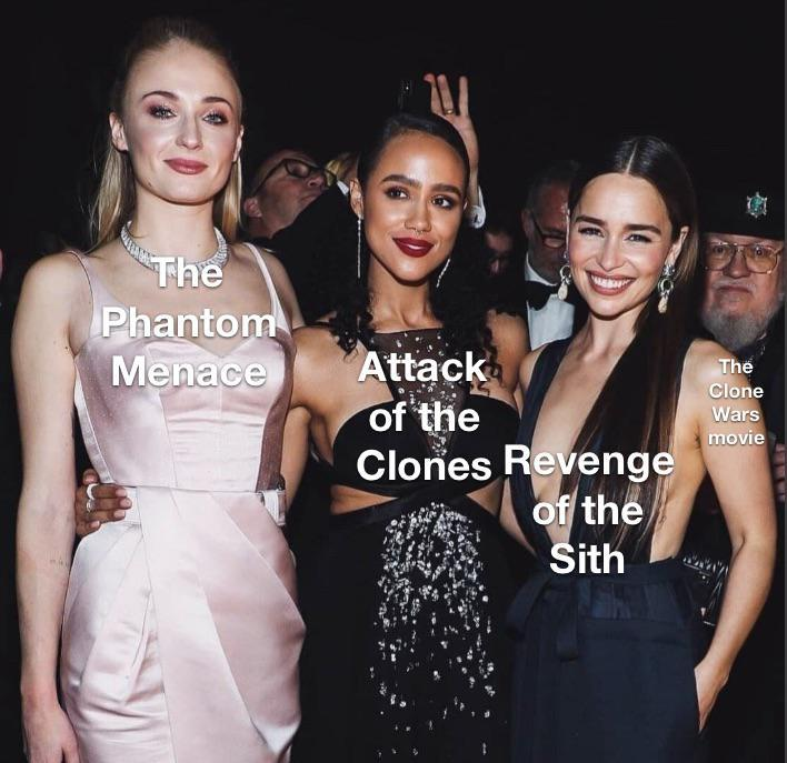 You Are In This Series But We Don T Grant You The Rank Of Memeable Movie R Prequelmemes Prequel Memes Know Your Meme