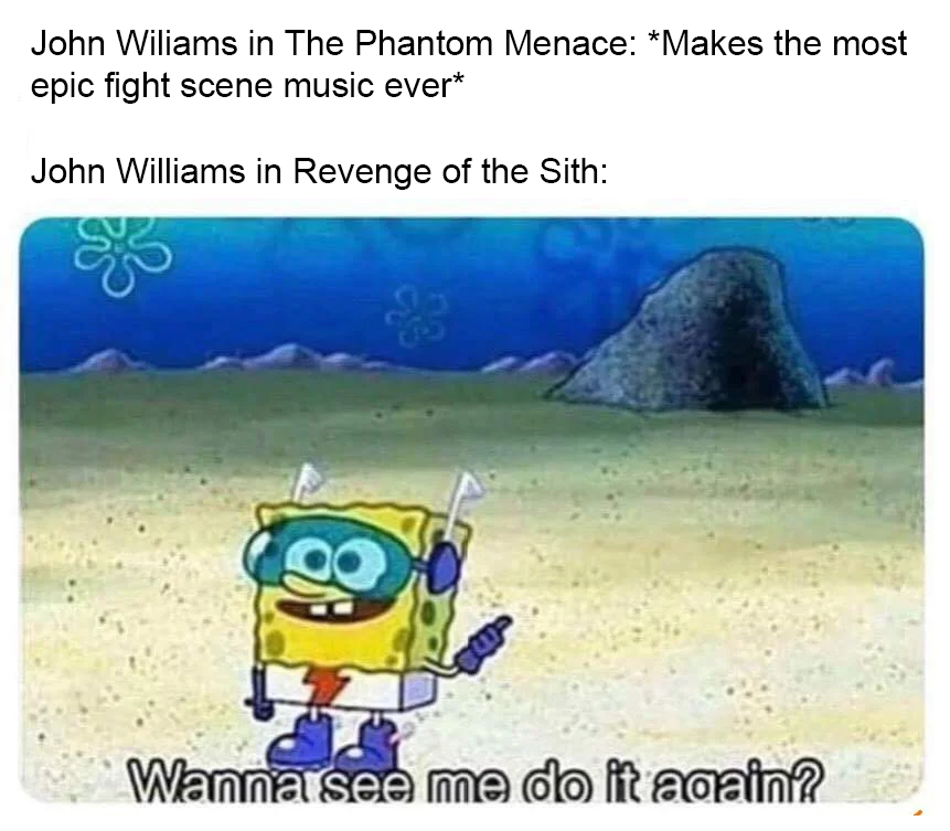I Can T Decide Between Duel Of The Fates Or Battle Of The Heroes R Prequelmemes Prequel Memes Know Your Meme