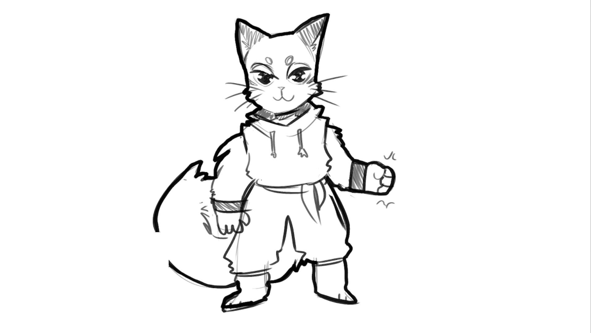 Dungeons Drawfee Drawga Live Bazil The Tabaxi Monk Drawfee Know Your Meme 3 love both tabaxis and monks! dungeons drawfee drawga live bazil