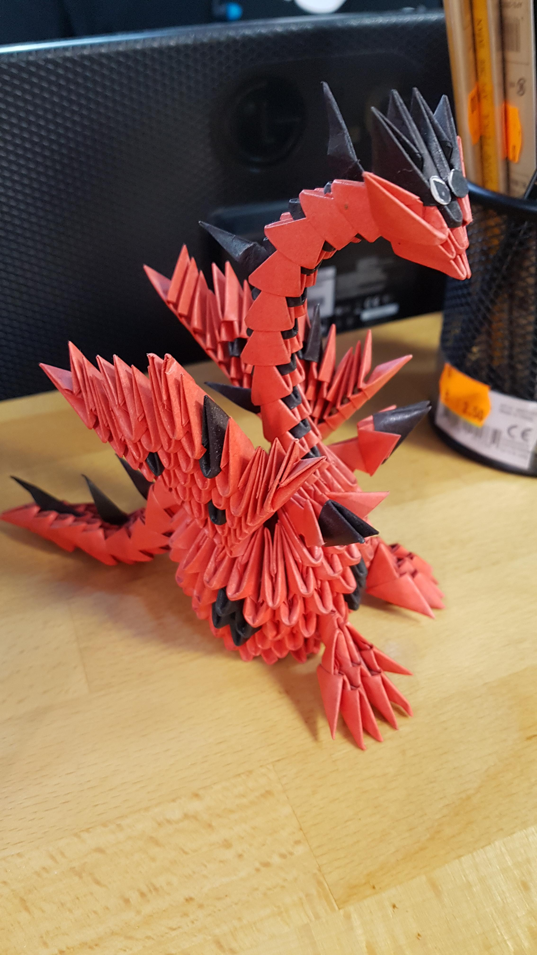 Get Fired Up for these Incredible Origami Dragons | 4032x2268