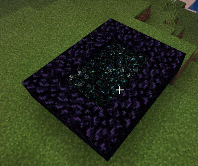 Guys Why Is My Nether Portal Doing This Should I Be Concerned R