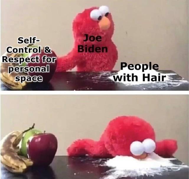Joe Biden Elmo Choosing Cocaine Know Your Meme