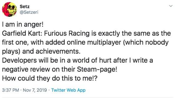 Furious Racing Review Garfield Kart Know Your Meme